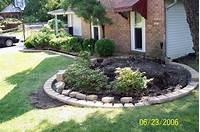 flower bed edging Brick Driveway Image: Brick Edging