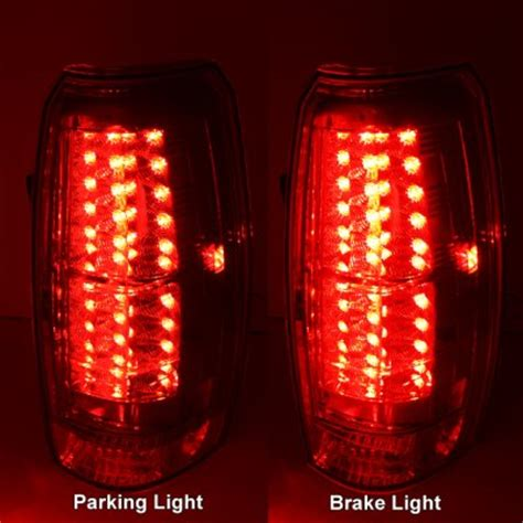 2008 chevy tail light 2008 chevy avalanche clear led tail lights a103n93x109