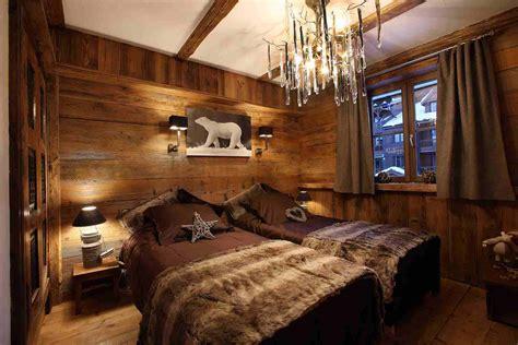 chambre chalet de luxe déco intérieur style chalet idées pour atmosphère