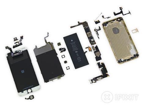 iphone 6 plus parts iphone 6 plusが速攻で分解され 中まで金ピカのゴージャス具合が丸裸にされる gigazine