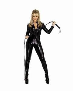 Catwoman Drkt Klder Kostym Fr Maskerad Tillbehr