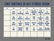 p90x workout sheet chest and back