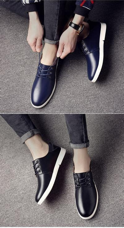Osco Plus Size Classical New Fashion Men Leather Low