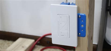 install  set   lutron caseta dimmer switch