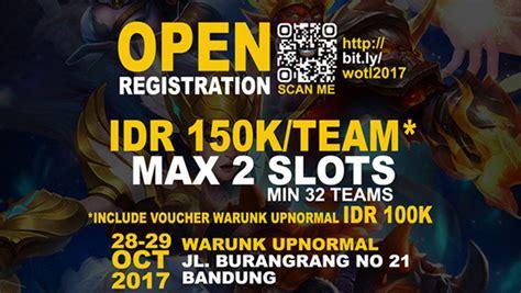 Turnamen Mobile Legend Bandung