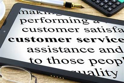 Customer Service Dictionary Tablet Personal Focus Touch