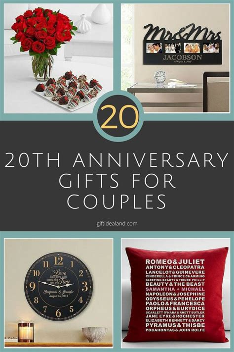 20th anniversary gift 1000 images about anniversary gifts on pinterest