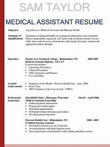 How to write a medical assistant resume in 2016 for How to write a resume for medical assistant