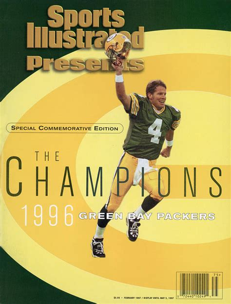 Green Bay Packers Qb Brett Favre Super Bowl Xxxi Sports