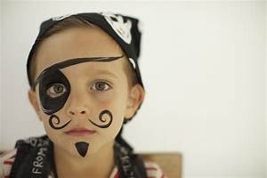 Face Painting | A Hip Pirate Party Thrown For a Designer ...