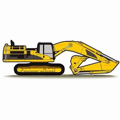Clipart Backhoe Cat Excavator Clip Clipartandscrap Pixels