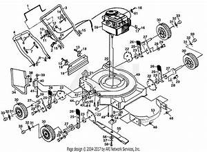 Poulan Pp722sa Mower Parts Diagram For Mower Assembly