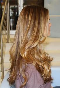 Dark medium blonde with some caramel highlights.Medium ...