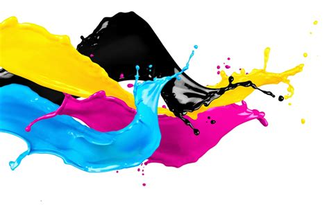 wallpapers cmyk concepts splashes  paint