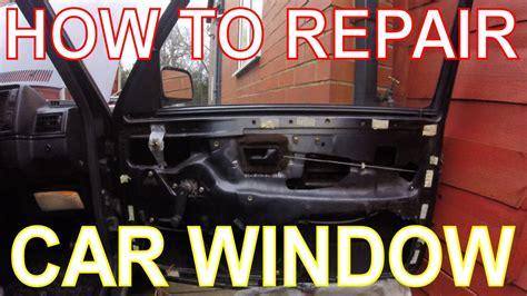 repair  car window replacing  window winder mechanism vw golf mk youtube