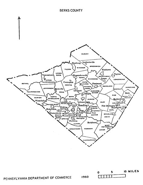 pa state archives mg   berks county map