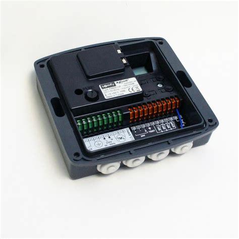 r 233 cepteur radio somfy axroll rts pour porte de garage enroulable voletshop