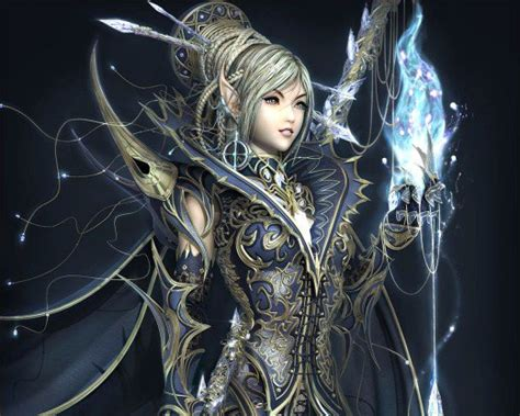 Female Elf Fantasy Wallpapers