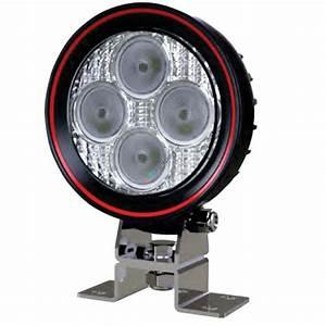 Arbeitsscheinwerfer Led 12v : led arbeitsscheinwerfer rund flach 12 watt weldex ~ Kayakingforconservation.com Haus und Dekorationen