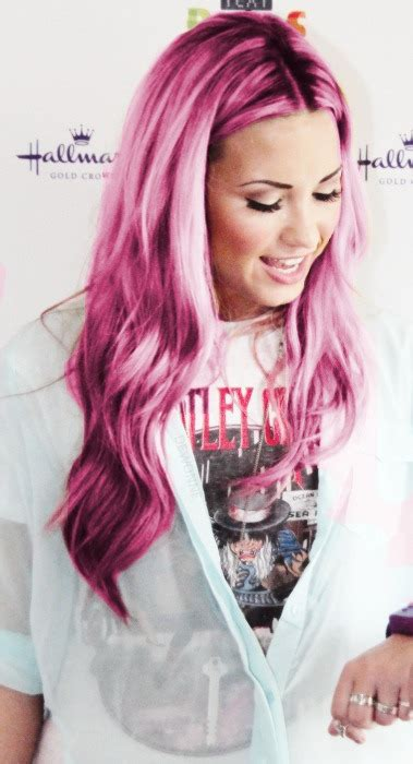 Demi Pink Hair Tumblr