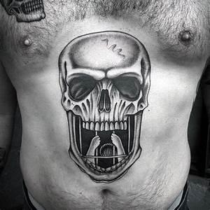 Top 100 Best Stomach Tattoos For Men - Masculine Ideas