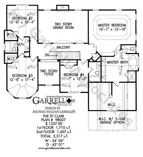 two house plans with basement two house plans with basement st clair house
