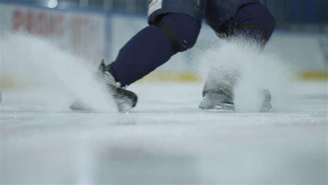 ice hockey close   hockey stock footage video