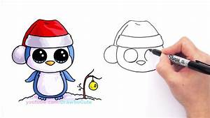 [Full HD] - How to Draw Beanie Boo Penguin easy Step by ...