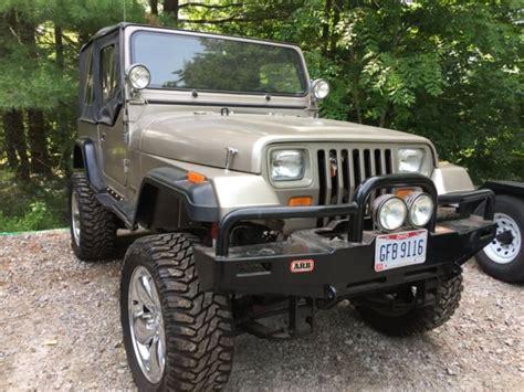 1987 Jeep Wrangler Yj Rust Free V-8 On 20 Inch Wheels