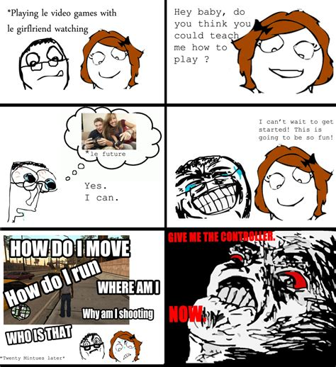 Rage Girl Meme - sexist oh crap omg rage face know your meme