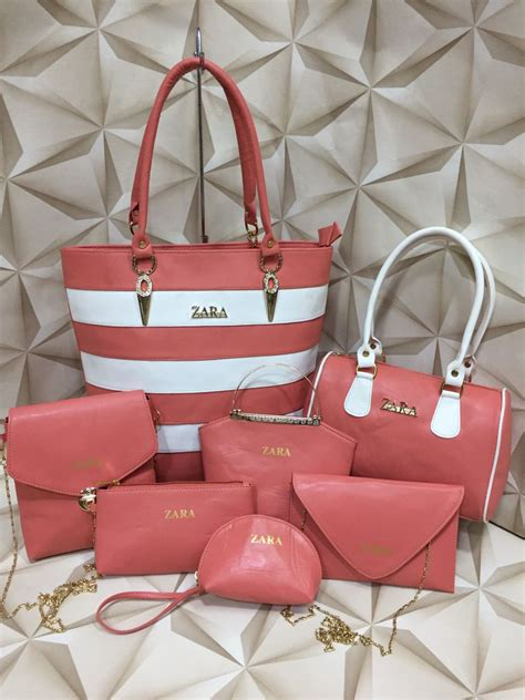 Branded Products: Zara Bags, 7 piece combo, 6 Designs