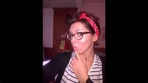 Coiffure Année 50 Pin Up : tuto coiffure style pin up avec un bandana hair tutorial style pin up with a bandana youtube ~ Melissatoandfro.com Idées de Décoration