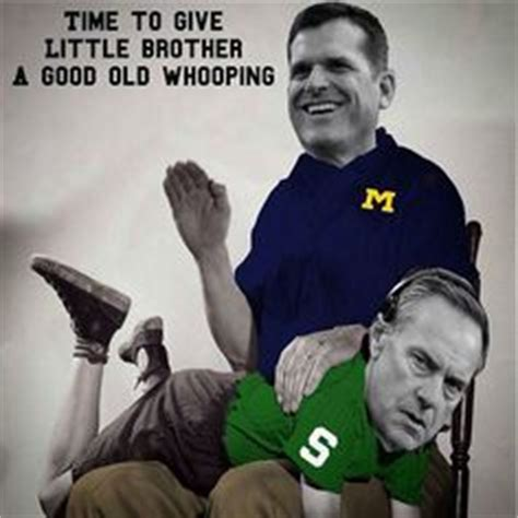 Michigan Football Memes - 1000 images about michigan vs michigan st memes on pinterest football memes jokes images