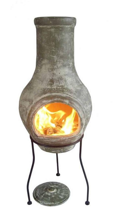 Small Chiminea Clay by Clay Chimenea Small Chiminea Patio Heater Pit