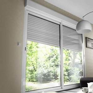 Volet Roulant Monobloc : baie coulissante aluminium avec volet roulant motoris ~ Farleysfitness.com Idées de Décoration
