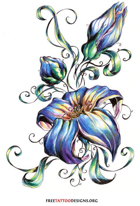 flower tattoo gallery  flower designs