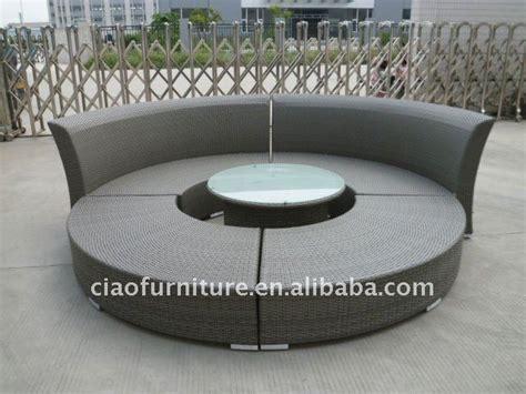 wicker outdoor semi circle sofa buy semi circle sofa