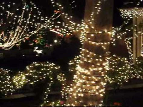 christmas lights in torrance ca calle mayor area youtube