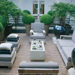 Outside Deck Furniture by Deck Patio