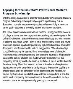 Good College Essays College Scholarship