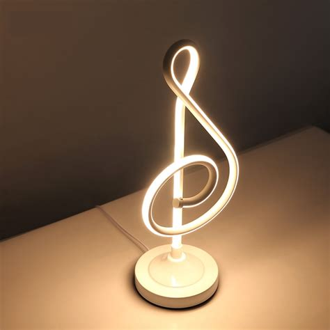 creative design spiral modern table light acrylic table