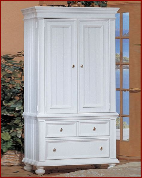 White Wardrobe Armoire by Winners Only White Tv Armoire Cape Cod Wo Bp1008ab