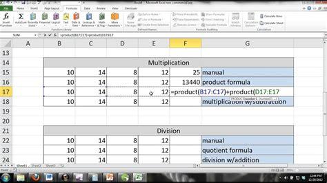 excel  tutorial  noobs part  basic formulasmath