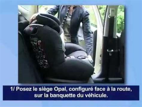 siege auto opal bebe confort bébé confort opal siège auto installation route