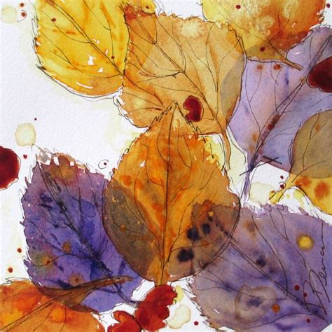 Autumn Wallpapers Watercolor by Autumn Leaves Watercolor Sketch Wallpaper Gallery Style