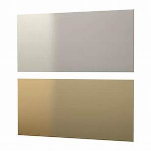 LYSEKIL Wall Panel Double Sided Brass Colourstainless