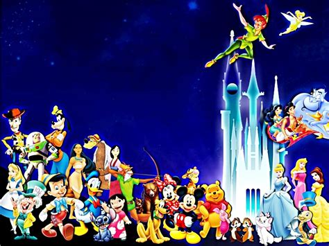 disney characters hd wallpapers pics