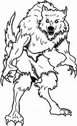 Coloring Pages Goosebumps Werewolf Printable Wolf Monster Hero Sheet Halloween Adventure Coloring4free Werewolves Drawings Curse Walkers Shadow Adult Wherewolf Advanced sketch template
