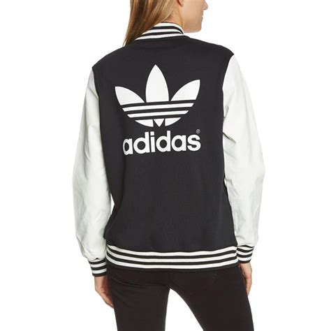 adidas originals style varsity jacket damen college jacke 220 bergangsjacke