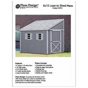 how to build a storage shed lean to style shed plans 6
